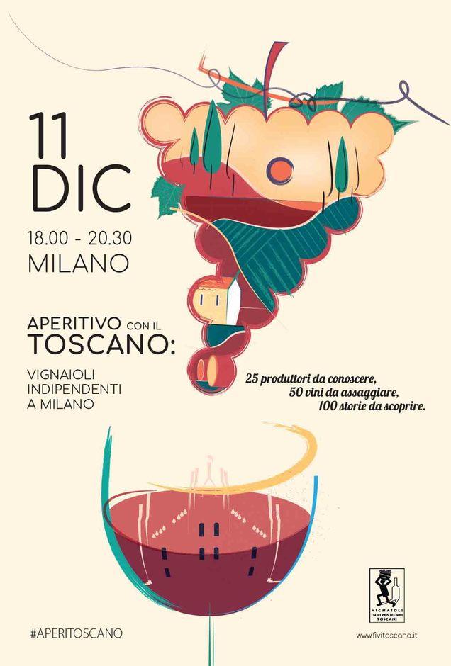 Aperitivo con il Toscano a Milano 2017 🗓 🗺